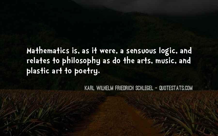 Quotes About Mathematics And Poetry #970870