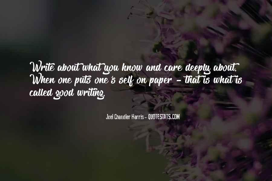 Quotes About Writing A Good Paper #1181552