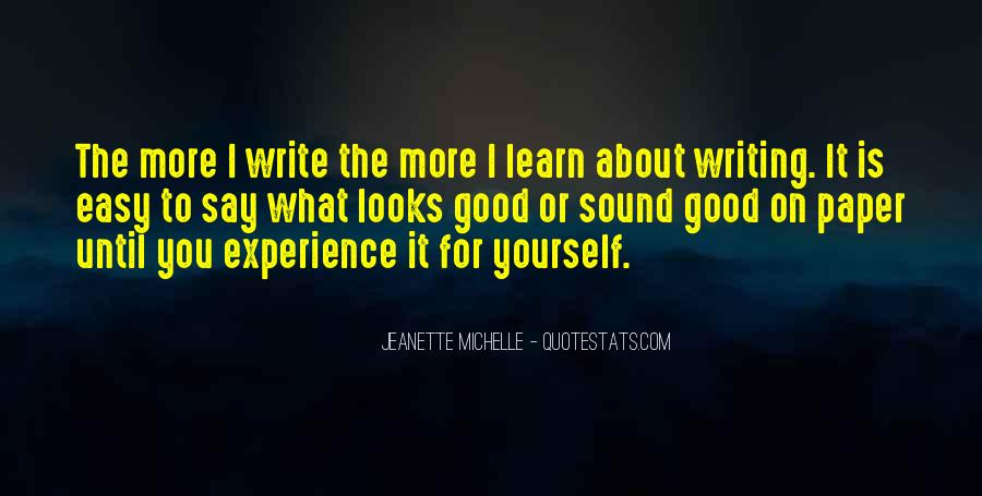 Quotes About Writing A Good Paper #1734041