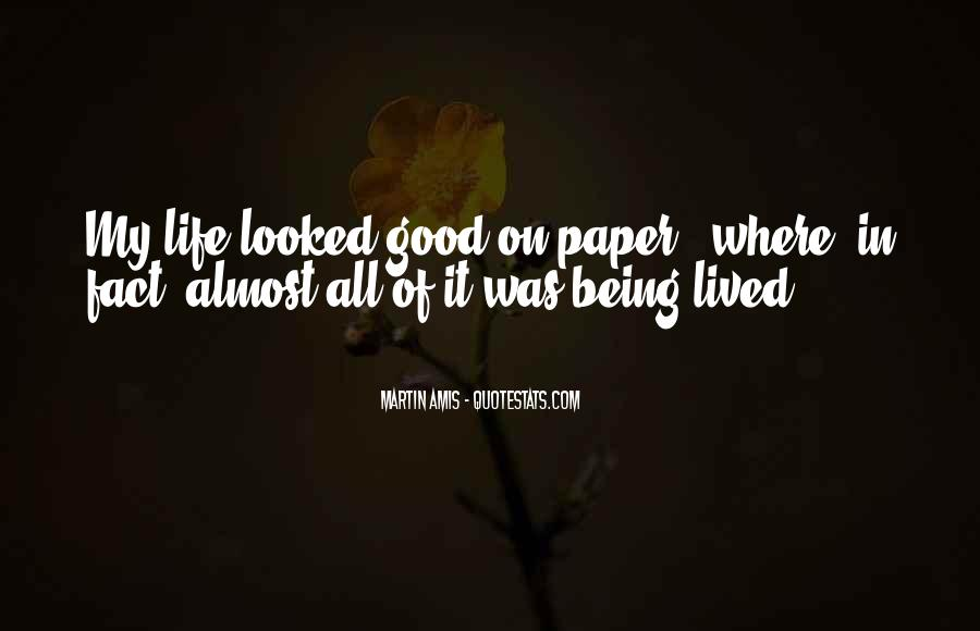 Quotes About Writing A Good Paper #523296