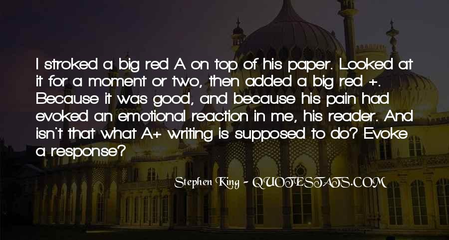 Quotes About Writing A Good Paper #766580