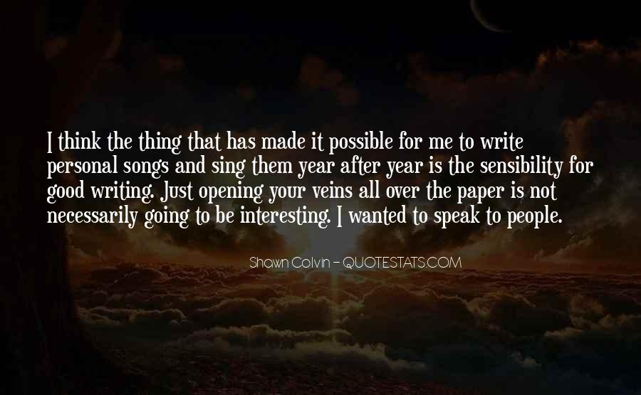 Quotes About Writing A Good Paper #934914