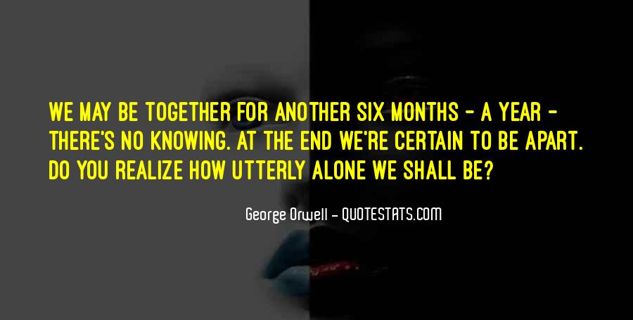Quotes About George Orwell 1984 #171177