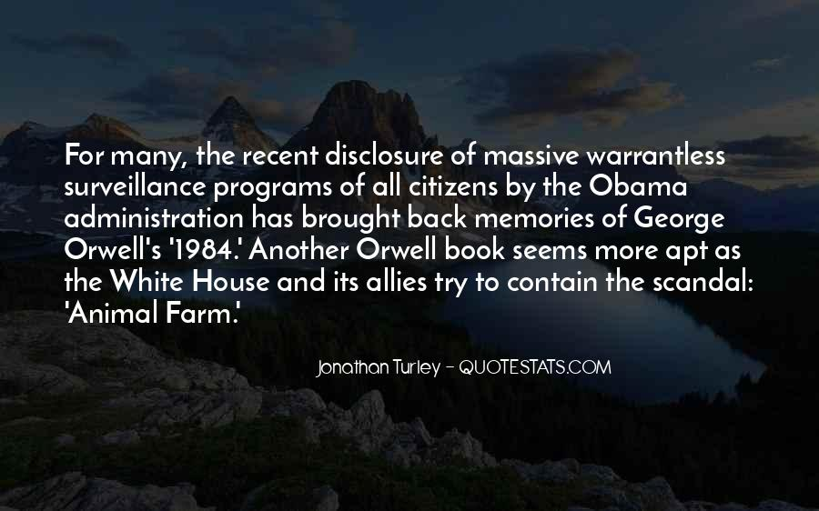 Quotes About George Orwell 1984 #521582