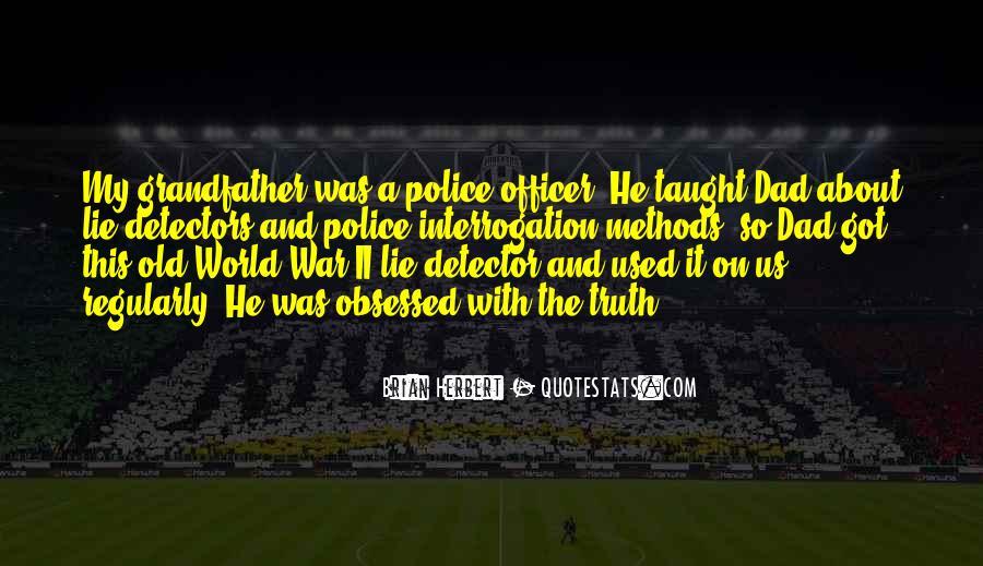 Quotes About Lie Detectors #231571