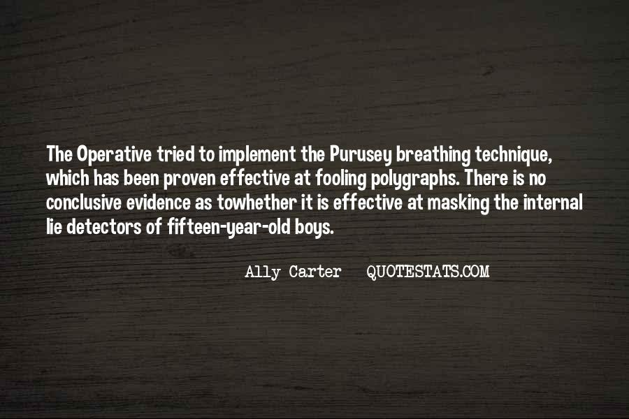 Quotes About Lie Detectors #904530