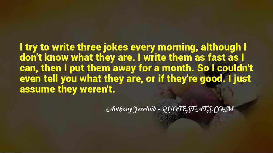 Quotes About Jokes #40658