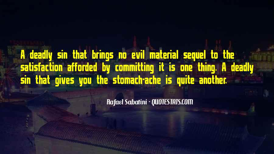 Quotes About 7 Deadly Sins #16087