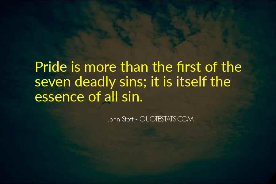 Quotes About 7 Deadly Sins #182117