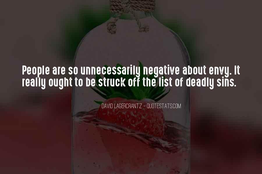 Quotes About 7 Deadly Sins #704452