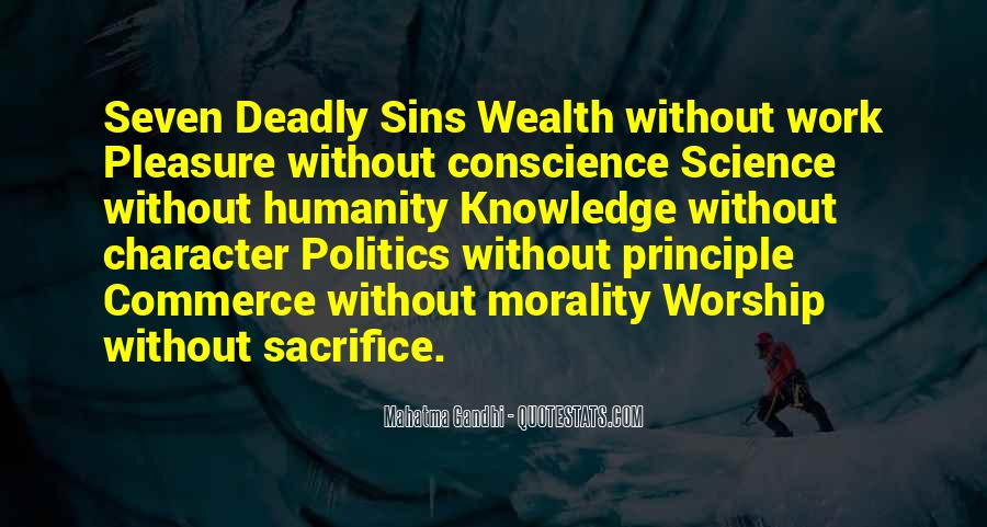 Quotes About 7 Deadly Sins #841679