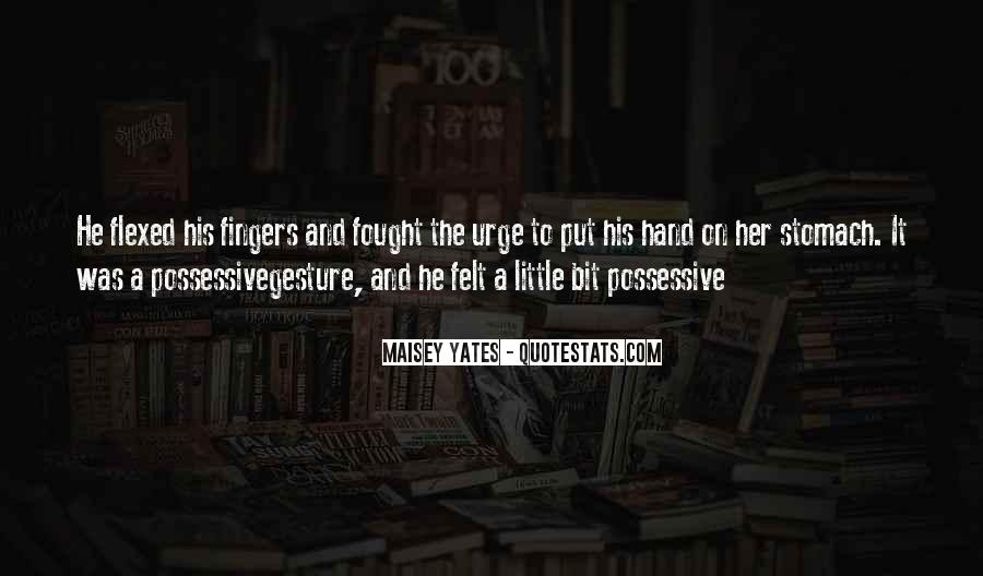 Quotes About Possessive Love #1535948