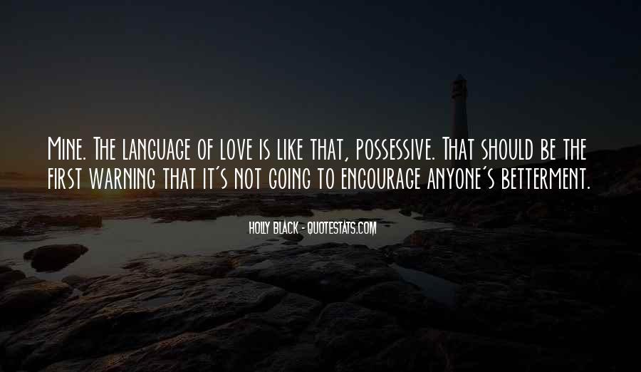 Quotes About Possessive Love #1861898