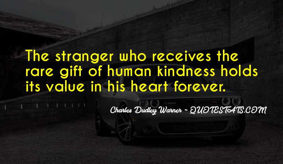 Quotes About A Stranger's Kindness #1498831