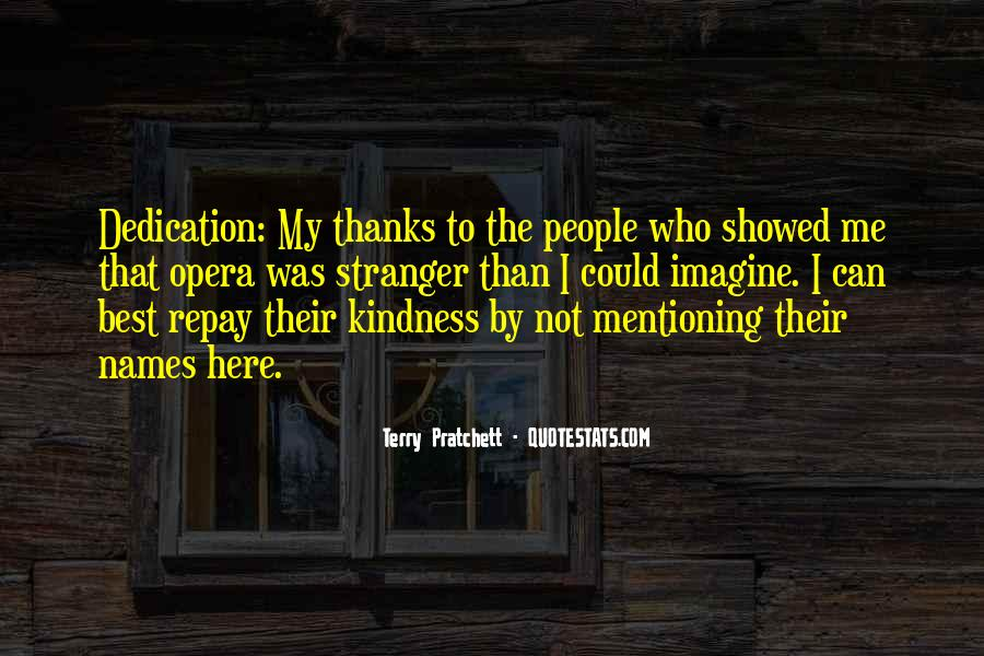 Quotes About A Stranger's Kindness #912797