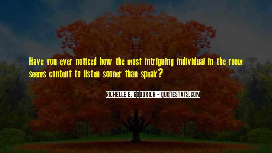 Quotes About Someone Intriguing You #195225