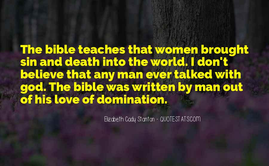 Quotes About Love Of God Bible #1255399
