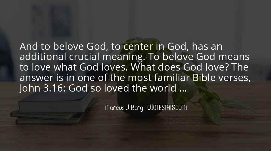 Quotes About Love Of God Bible #1722980