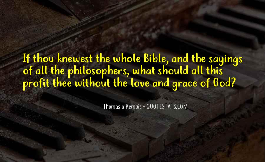 Quotes About Love Of God Bible #1849085