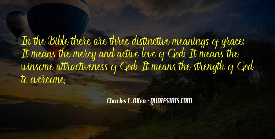 Quotes About Love Of God Bible #190027