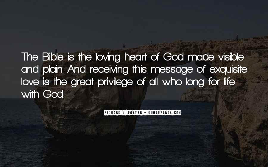 Quotes About Love Of God Bible #436992