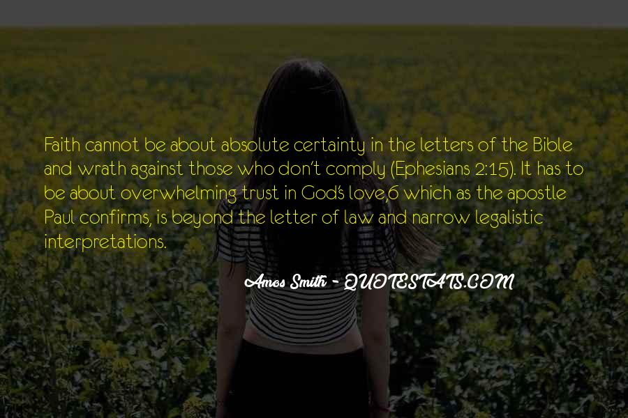 Quotes About Love Of God Bible #62173