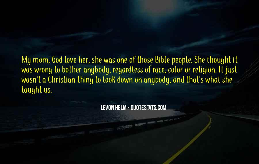 Quotes About Love Of God Bible #850471