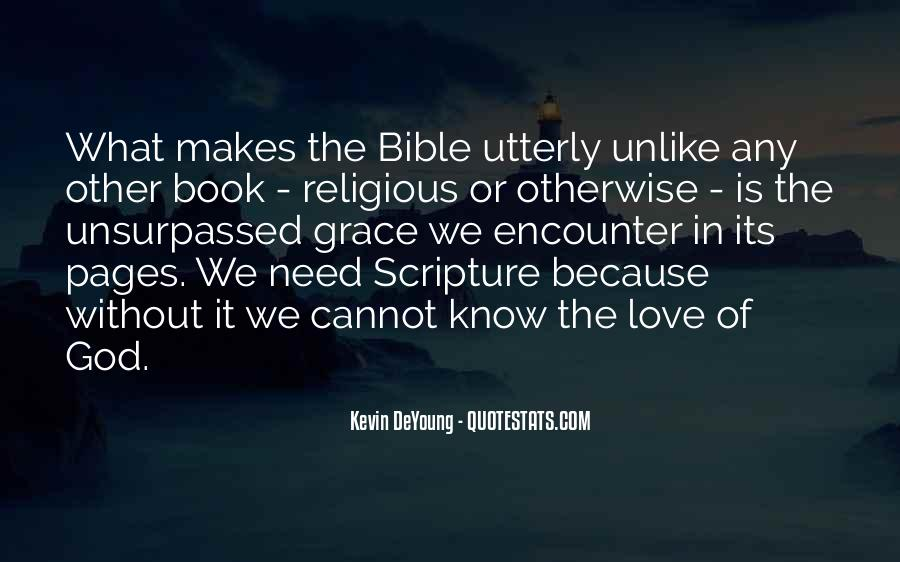 Quotes About Love Of God Bible #995792