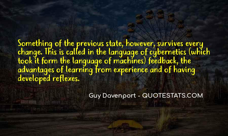 Quotes About Experience And Change #125771