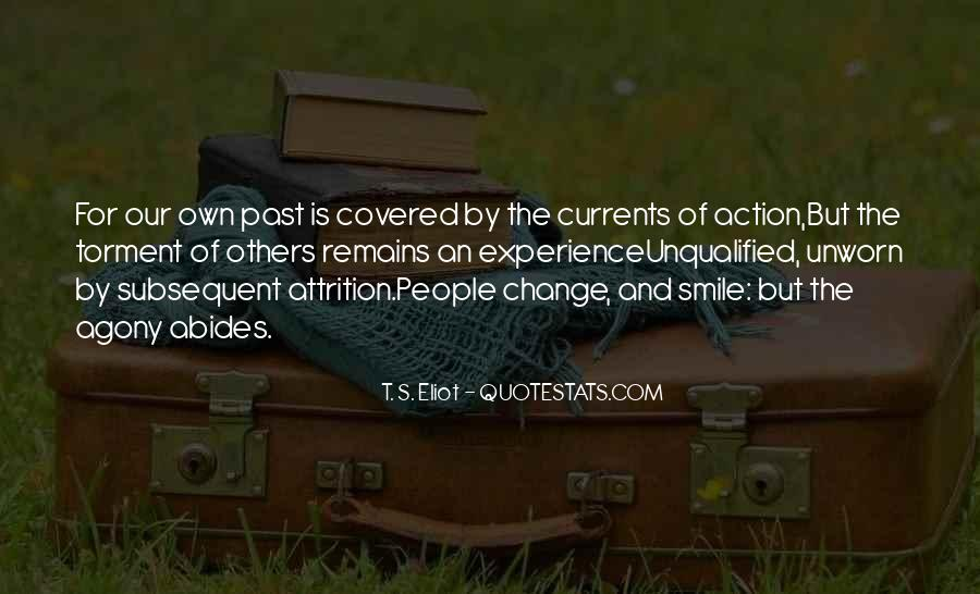 Quotes About Experience And Change #130718