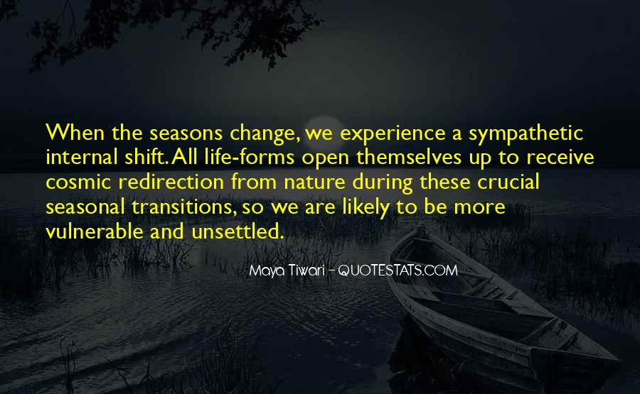 Quotes About Experience And Change #209673