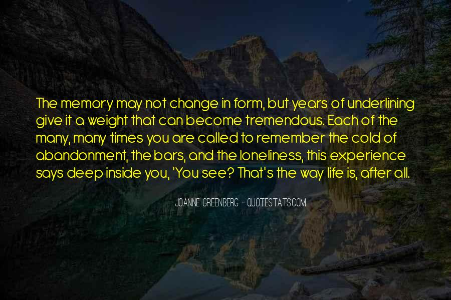 Quotes About Experience And Change #360573