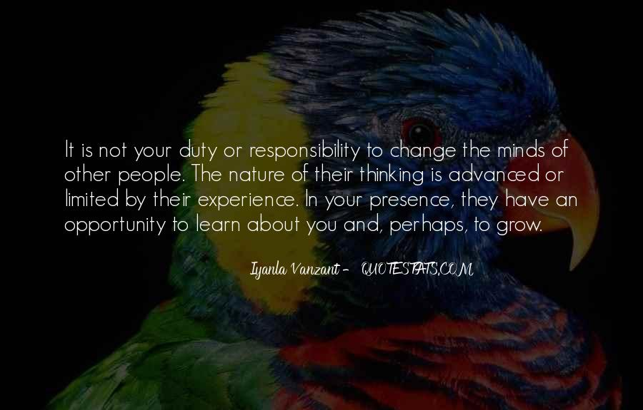 Quotes About Experience And Change #381832