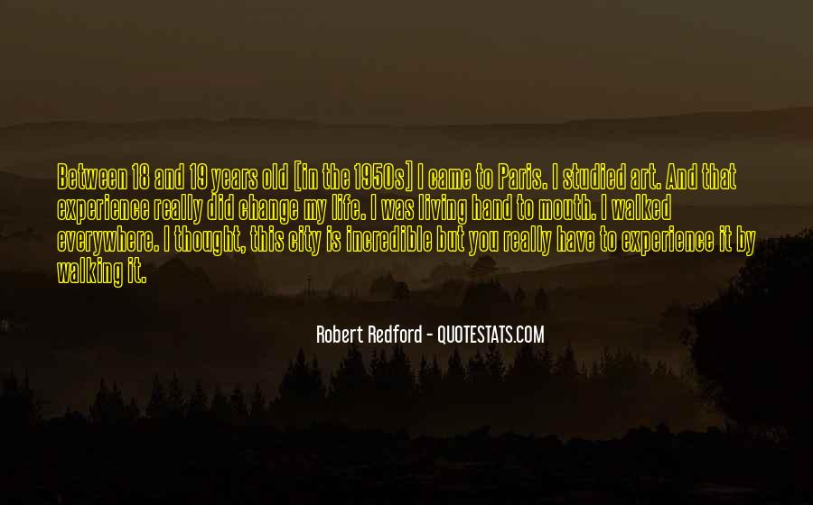 Quotes About Experience And Change #615297