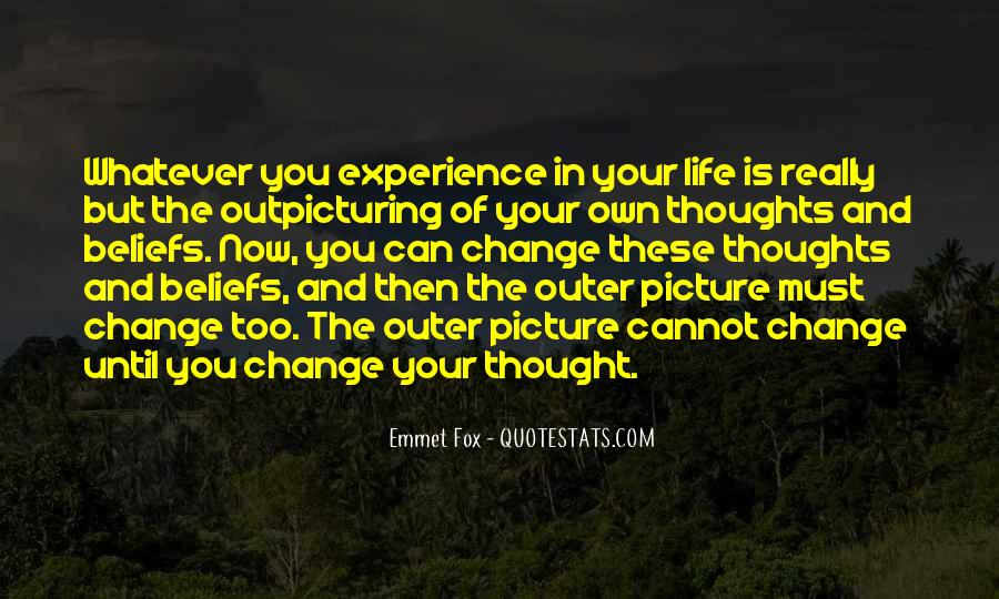 Quotes About Experience And Change #680407