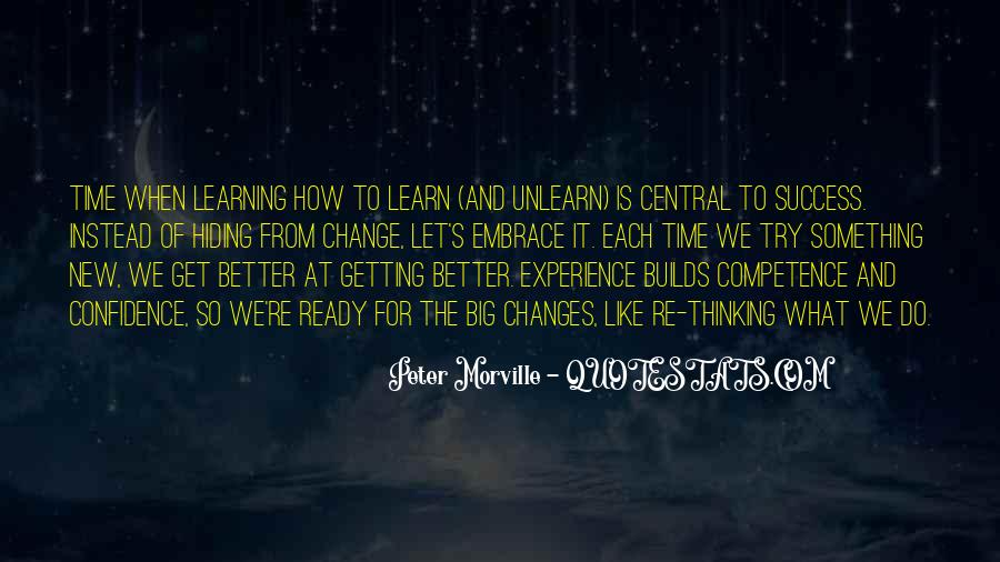 Quotes About Experience And Change #705783