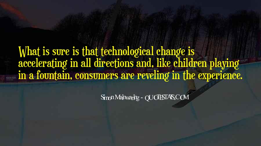 Quotes About Experience And Change #845891