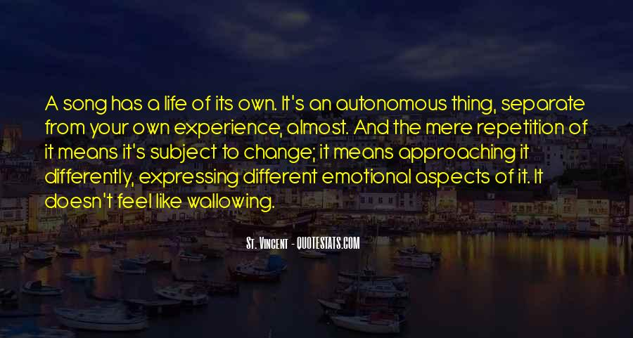 Quotes About Experience And Change #872821