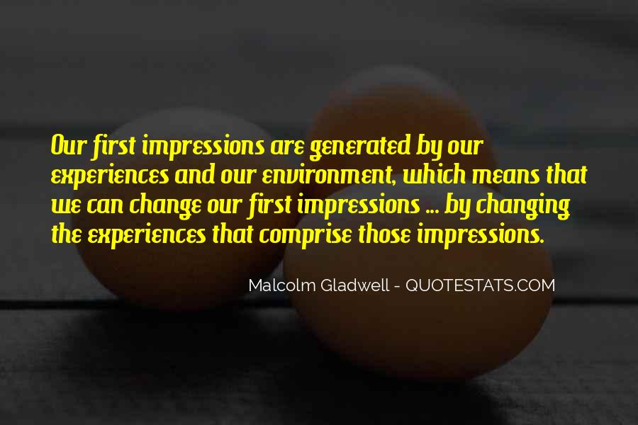 Quotes About Experience And Change #90005