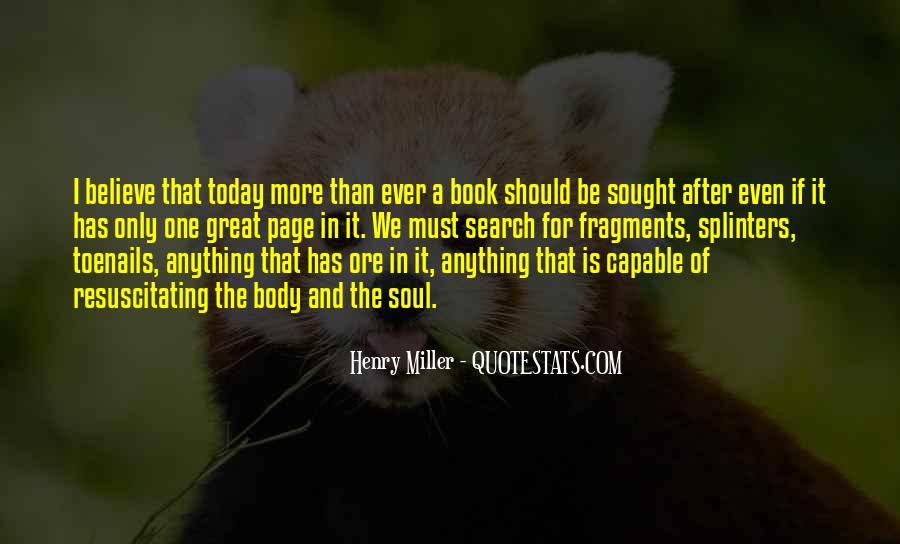Quotes About Books And The Soul #1050044