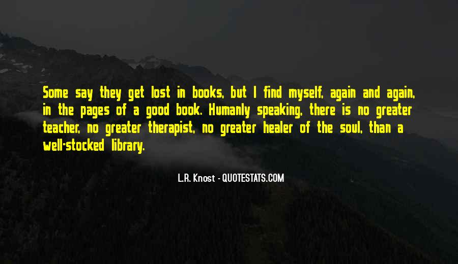 Quotes About Books And The Soul #1184184