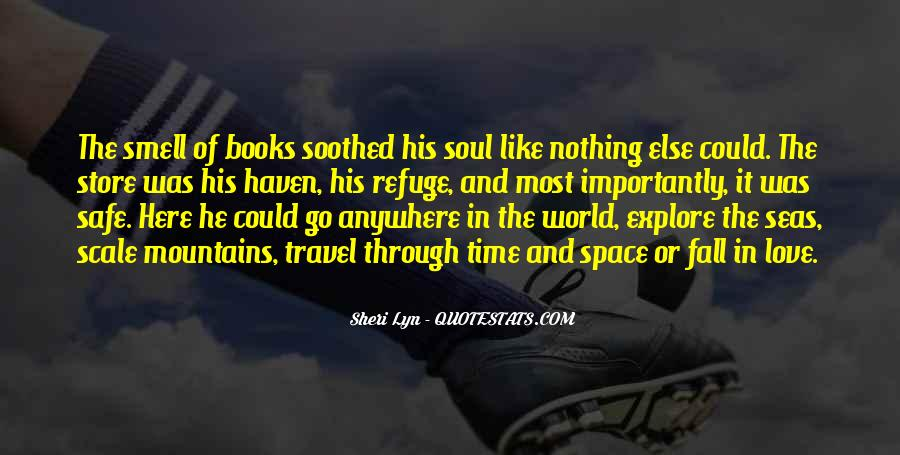 Quotes About Books And The Soul #1311782