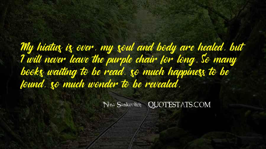 Quotes About Books And The Soul #1690390