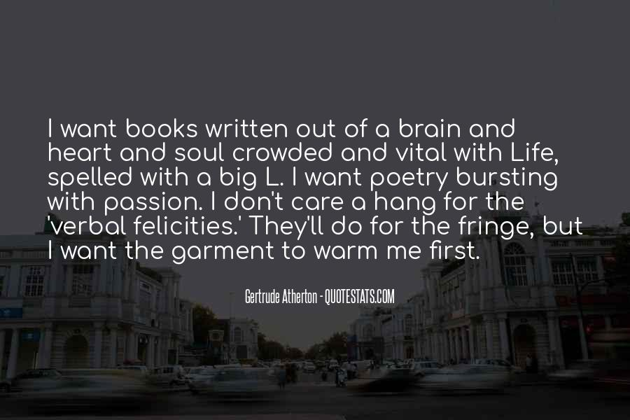 Quotes About Books And The Soul #238939