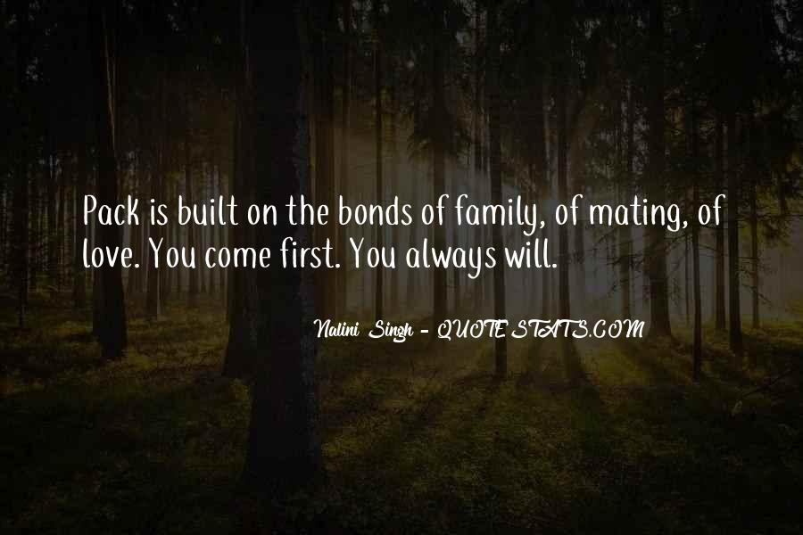 Quotes About Bonds Of Family #295281