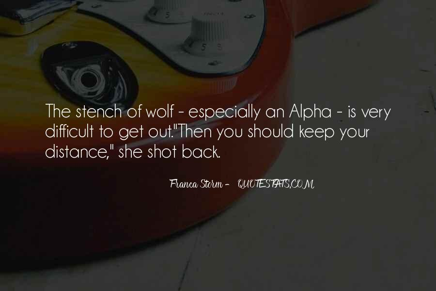 Quotes About Alpha Wolf #1494048