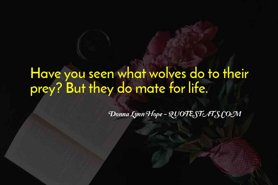 Quotes About Alpha Wolf #716449