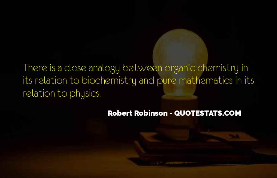 Quotes About Biochemistry #1695501