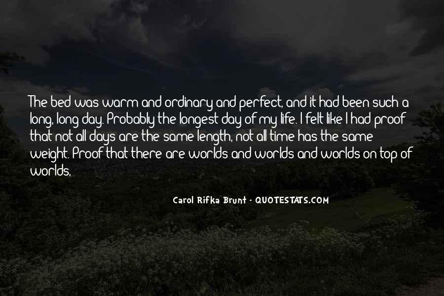 Quotes About Perfect Worlds #1270169