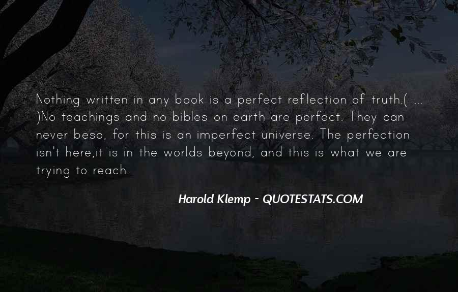 Quotes About Perfect Worlds #1403461